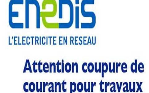 ENEDIS COUPURE COURANT