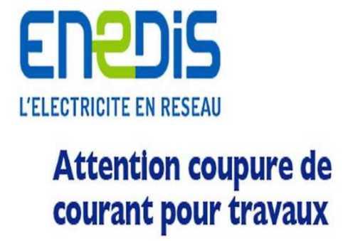 ENEDIS COUPURE COURANT
