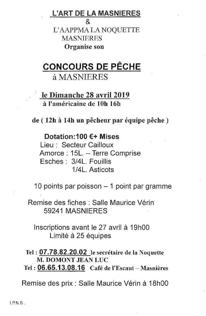 concours de pêche 2019