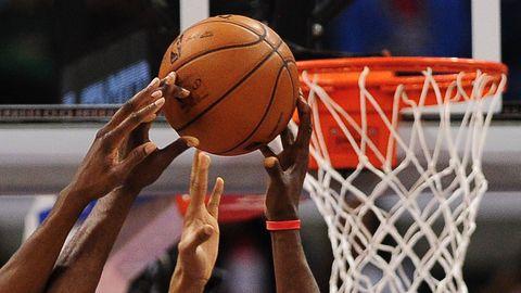 match de basket ball