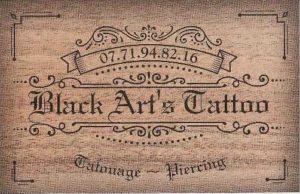 publicité tatoueur recto
