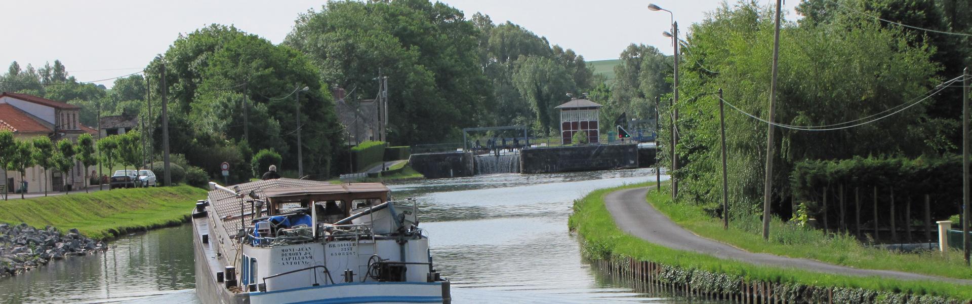 Le canal de Saint Quentin